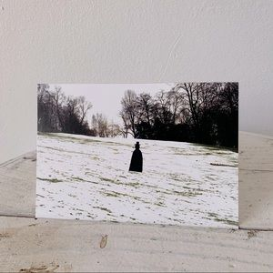 💌Ltd Edition Winter Art Postcard